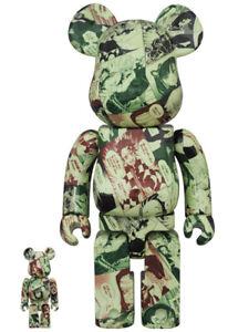 Medicom Toy Be@rbrick Bearbrick 100% & 400% Kimetsu no Yaiba Limited Edition