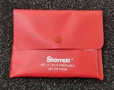 Starrett S154sz Adjustable Steel Parallel In Stock