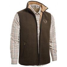 Chevalier Mainstone Gilet Size UK 2XL Fleece Vest Brown Waistcoat Hunting