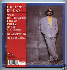 "Eric Clapton/Bad Love + 1 (Live) (UK/7"" Vinyl Record/Box Set)"