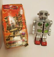 Amico Toys Attacking Martian Tin Japan Battery Operated VERY RARE