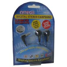 Omega HP-16 Digital Stereo Earphone Super Bass Sound for iPod Mp3 Player Black