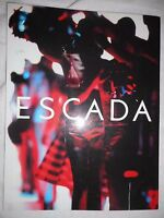 ESCADA Vintage 2002 Fashion Catalog Book Advertising Marketing Spring Summer 42