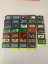 Nintendo Gameboy Advance Games Pick and Choose Tested & Working Ships Fast!