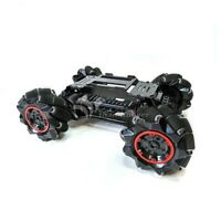 4WD 97mm Mecanum Wheel Robot Car Fiberglass Chassis Kit for Arduino Raspberry Pi