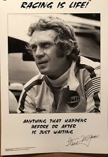 "McQueen ""Racing Is Life! Sebring 1970 Anything That Happens #1Car Poster!Own It!"
