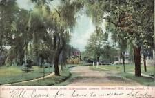 Antique POSTCARD c1907 Lefferts Avenue looking North RICHMOND HILL, NY 13637