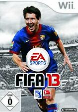 Nintendo Wii + Wii-U FIFA 13 CALCIO guterzust tedesco.