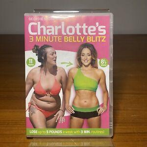 Charlotte Crosbys: 3 Minute Belly Blitz (DVD) Region 4 +Free Shipping
