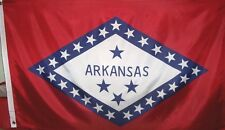 Arkansas State Flag - Outdoor 3' X 5' Polyester New With Grommets