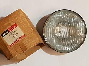 TRIUMPH STAG 1971-77 HEADLAMP UNIT OUTER LHD LUCAS 54524078 / TRI. 518817 NOS!