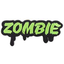 Zombie Devil Monster Ghost Horror Biker Rocker Satan Punk Iron-On Patches #T012