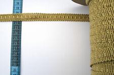 5 m Goldborte 15 mm Gewand Mittelalter Scrapbooking Tischdecke polstern NEU lace