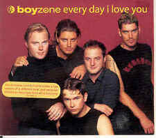 Boyzone - Every Day I Love You Ltd. CD In Christmas-PS