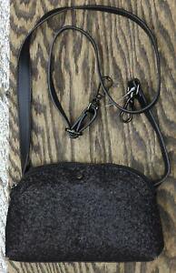 A New Day Women's Convertible Glitter Fanny Pack. WHPU04-H Black Glitter