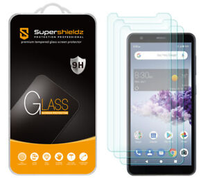 [3-Pack] Supershieldz Tempered Glass Screen Protector for ZTE Blade A3 Prime