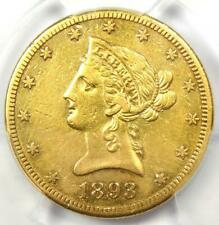 1893-CC Liberty Gold Eagle $10 - PCGS XF Details (EF) - Rare Carson City Coin!