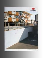 Collectable 2010 Haro BMX bicycle, catalog features new product line