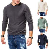 Jack & Jones Herren Strickpullover Pullover O-Neck Basic Longsleeve Langarmshirt