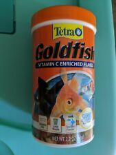 New listing Tetra TetraFin Goldfish Flakes 2.2 oz