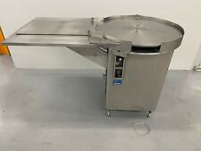 """Cozzoli At30 - 30"""" Dia. Accumulating Rotary Unscrambler Bottle Feed Table"""