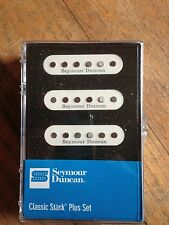 Seymour Duncan Classic Stack Plus For Statocaster Pickup Set White New STK-S4s
