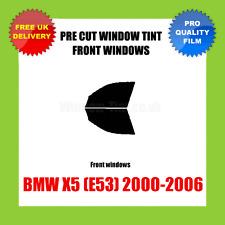 BMW X5 (E53) 2000-2006 FRONT PRE CUT WINDOW TINT KIT