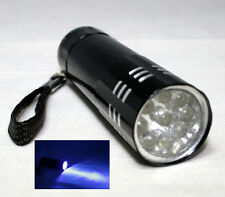 LICE EGG and NIT Detection- UV Ultra Violet 9 LED Flashlight Torch Light Lamp