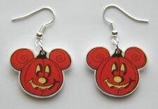 New Halloween Mickey Mouse Jack O Lanturn Earrings