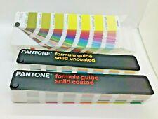 Pantone Solid Coateduncoated Formula Guides