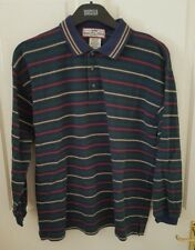 Boys Longsleeve Casual Stripe Top Size Large Age 16 Used In Excellent Condition