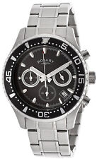 Rotary GB00014/04 Aquaspeed Black Dial Stainless Steel Chronograph Men's Watch