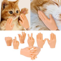 Cat Pet Party Halloween Finger Toys Tiny Finger Hands Finger Puppets Hand Palm