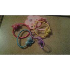 lot de 5 petites élastique cheveux accessoires cheveux fille enfant bébé motif
