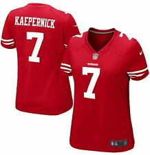 Colin Kaepernick San Francisco 49ers Nike Women's Game Jersey M– Scarlet GENUINE