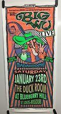 The Big Wu Concert Poster 1/23/99 Mark Arminski Signed Numbered