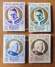 EBS Vatican City Città del Vaticano 1951 Beatification Pius X 145-148 MNH** $60