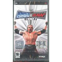 Wwe Smackdown Vs Raw 2007 Jeu Vidéo Psp / Thq Scellé