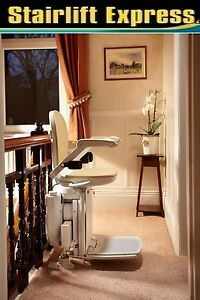 Brand new curved Brooks stairlift, installed + 12 month warranty-