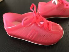 Mini Melissa Girls Pink Jelly Sneakers Sz 9