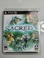 MINT Condition!! Complete Sacred 3 Sony PlayStation 3 PS3