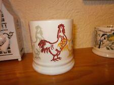 Emma  Bridgewater  Chicken  Half pint  Mug.  Hand  sponged