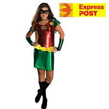 ROBIN TEEN TITANS FEMALE COSTUME, CHILD Teen size M dress 2-4