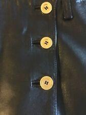 Jitrois Leather Skirt Size 0-2
