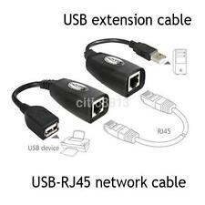 USB 2.0 to CAT5e CAT6e RJ45 LAN Modem Extension Extender Adaptor for XBOX Webcam