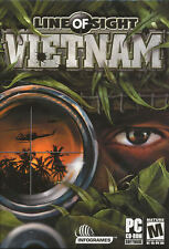 LINE OF SIGHT VIETNAM Site Shooter PC Game NEW in BOX!