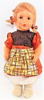 """MJ Hummel Goebel Viny 11"""" Gretl Doll Vintage"""