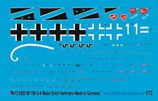 Peddinghaus  1/72 0825 BF 109 G-6 Maj Erich Hartmann Russland 1943