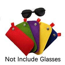 Glasses Bag Chemical Fiber Felt Soft Brief Pouch Sleeves Glasses Reading Case.
