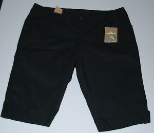 Kathmandu women's plus size black shorts Size 18 (New)